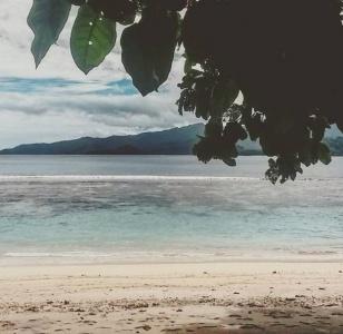 Snorkeling at Loloho Beach, Bougainville