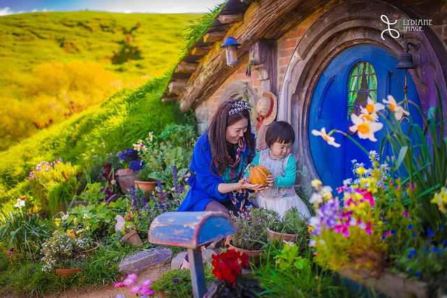 """Hobbiton Village"" BY Lydiane Image via flickr.com under a Creative Commons License CC-BY 2.0"