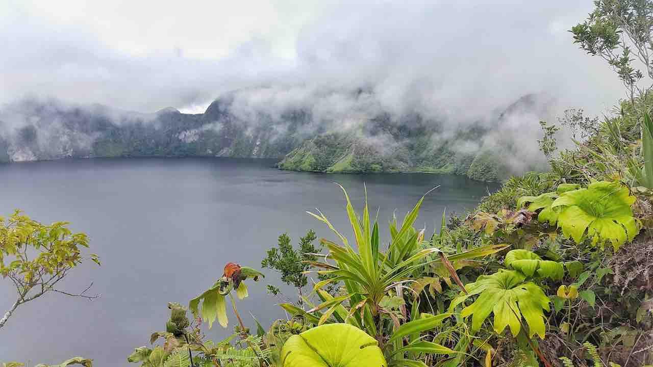 Hiking to the Volcanic Crater Lake Eruovi aka Billy Mitchell