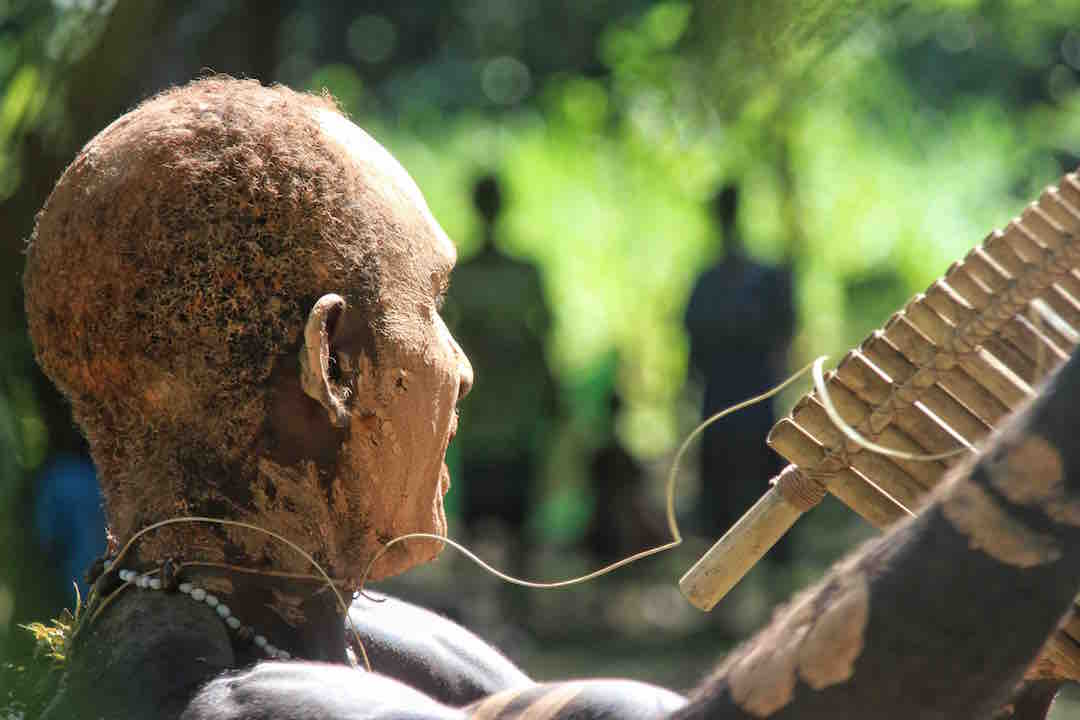 A Bougainville Sing Sing in Papua New Guinea