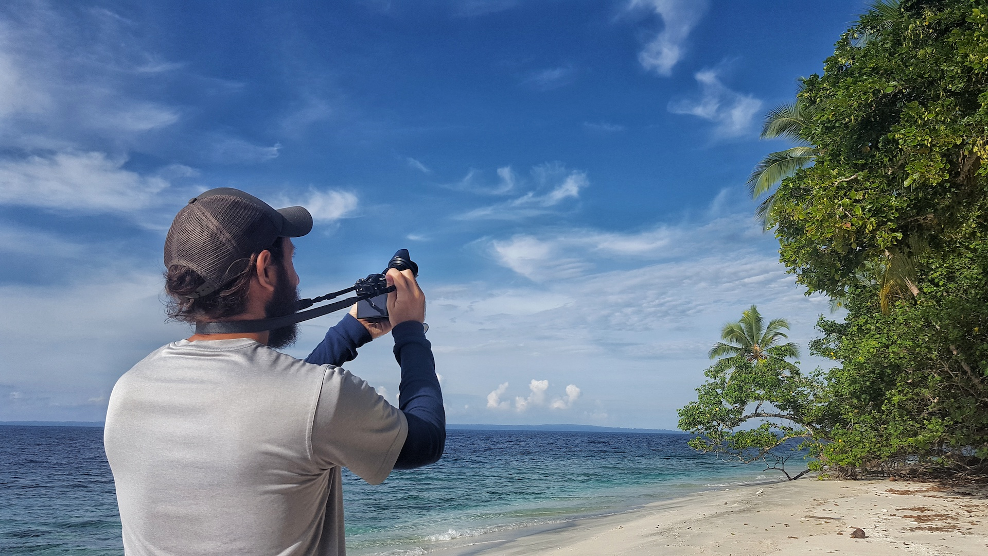 Travelling from Bougainville to the Solomon Islands