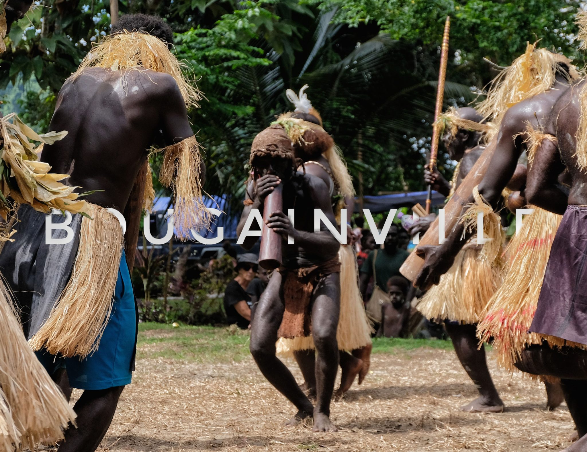 Unique dance and traditional sing sing performance | Bougainville, Papua New Guinea