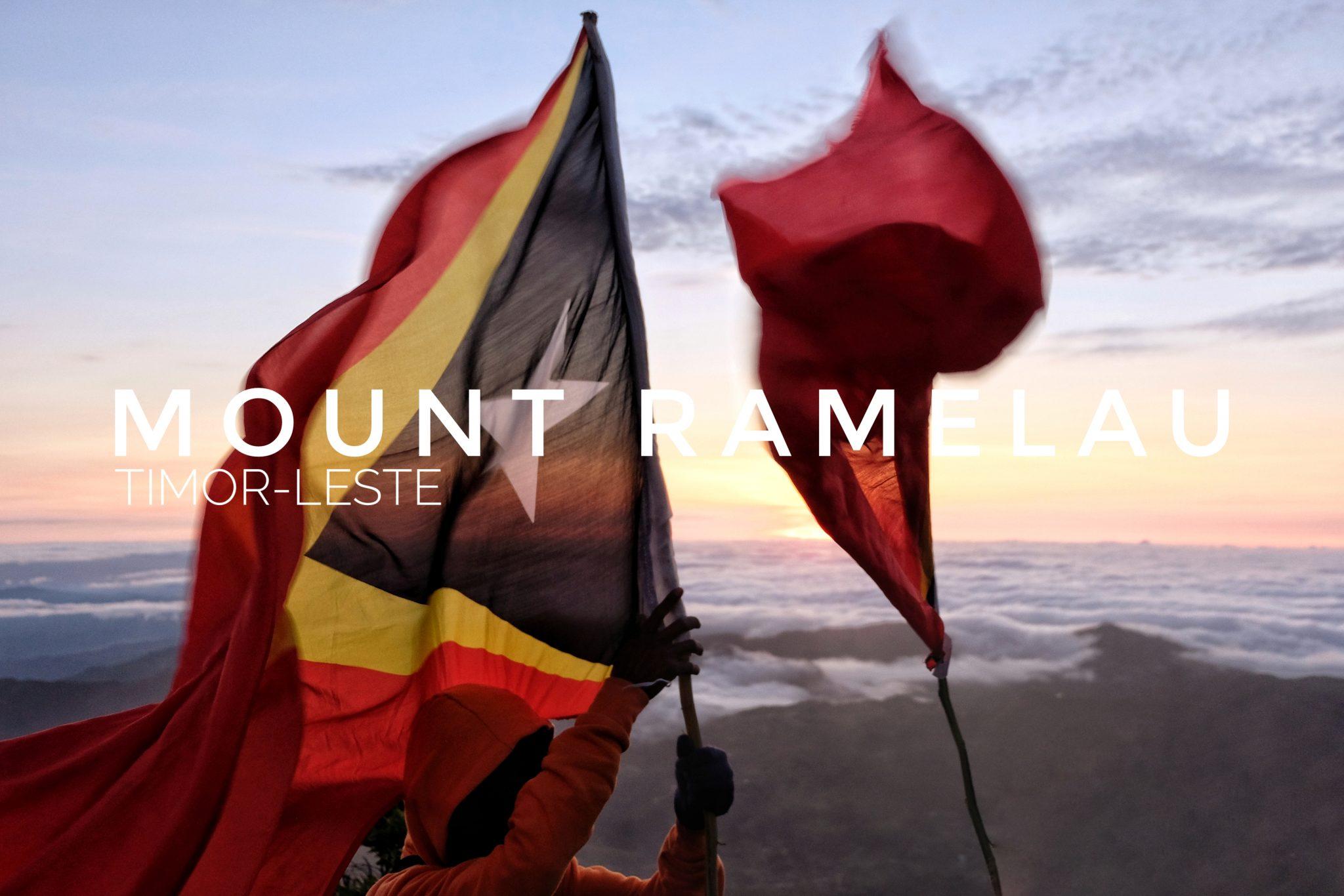Climbing Mount Ramelau, Timor-Leste