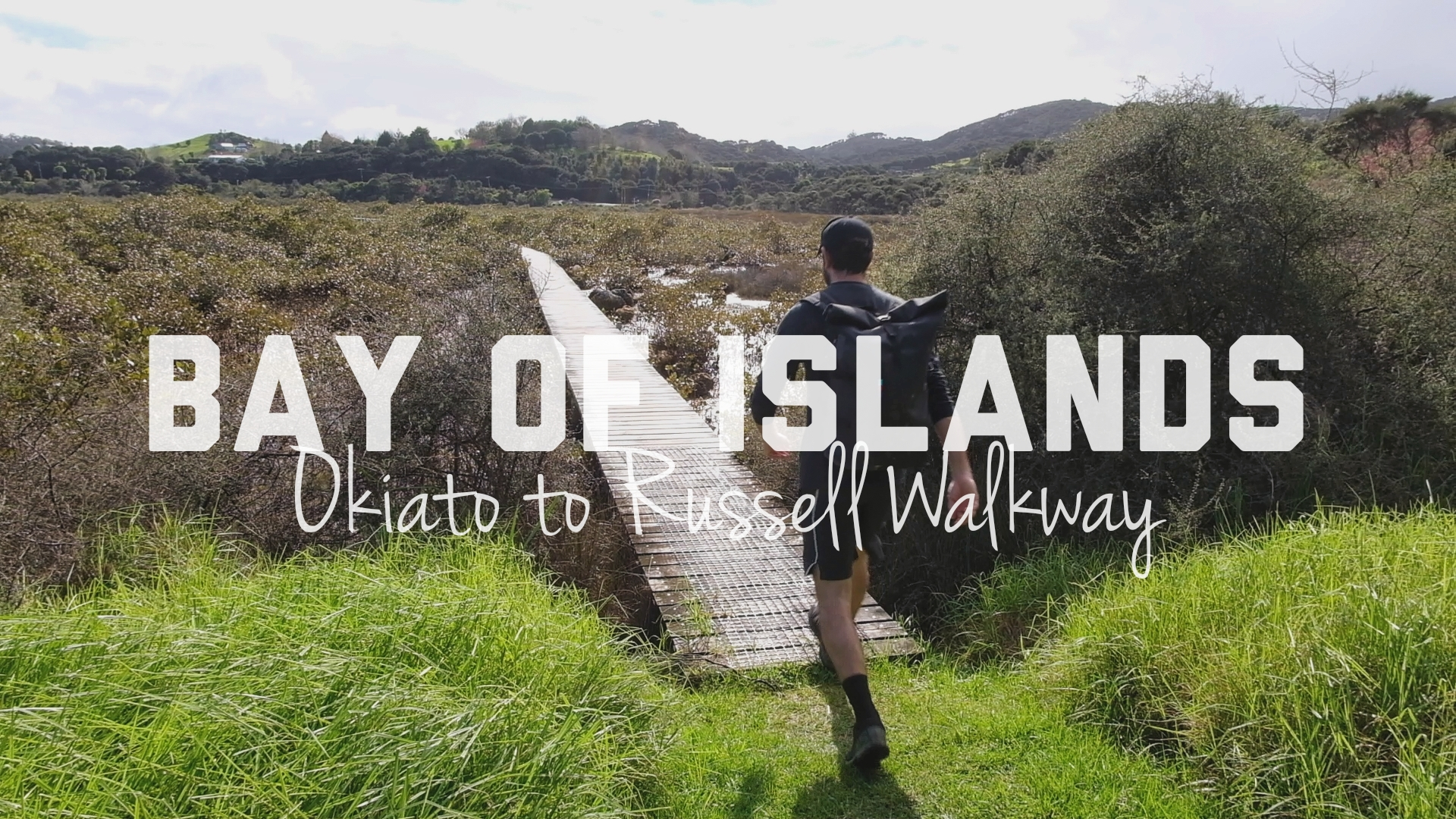 Hiking Okiato to Russell Walkway in Bay of Islands, NZ