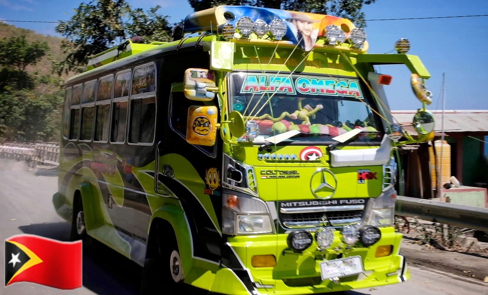 Timor Leste PIMPED UP Public Transport